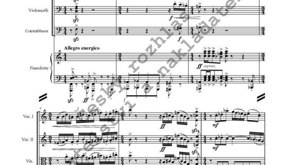 Vítězslava Kaprálová - Partita pro smyčcový orchestr a klavír op. 20