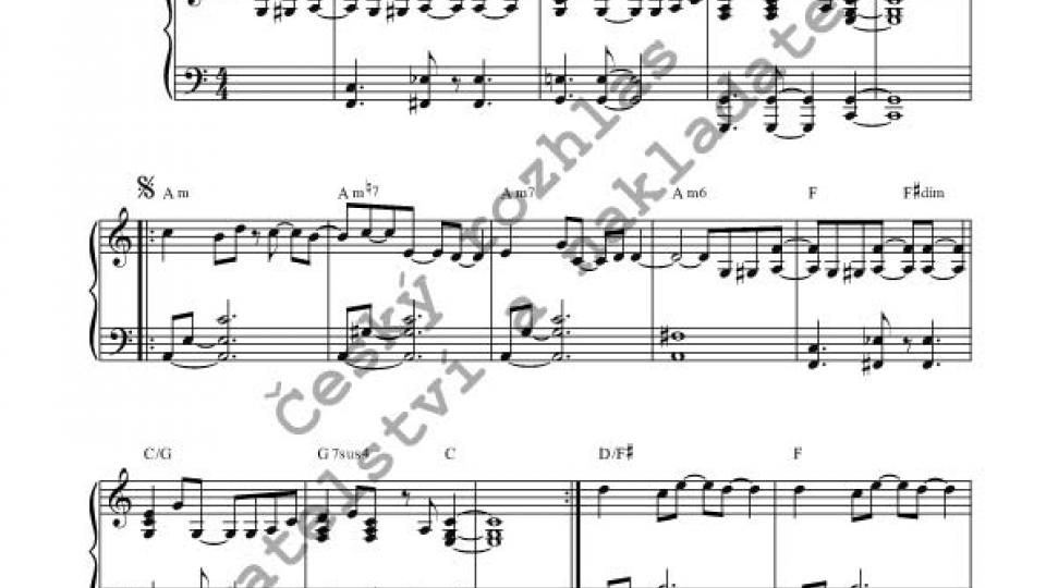 Martin Kratochvíl – Piano solo