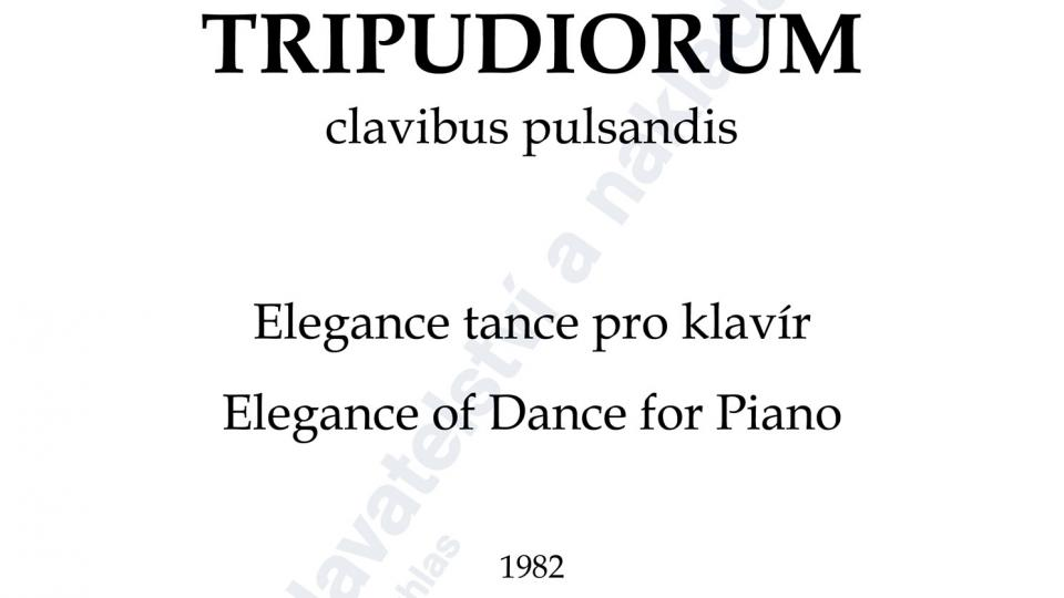 Elegantiae tripudiorum - Jan Novák