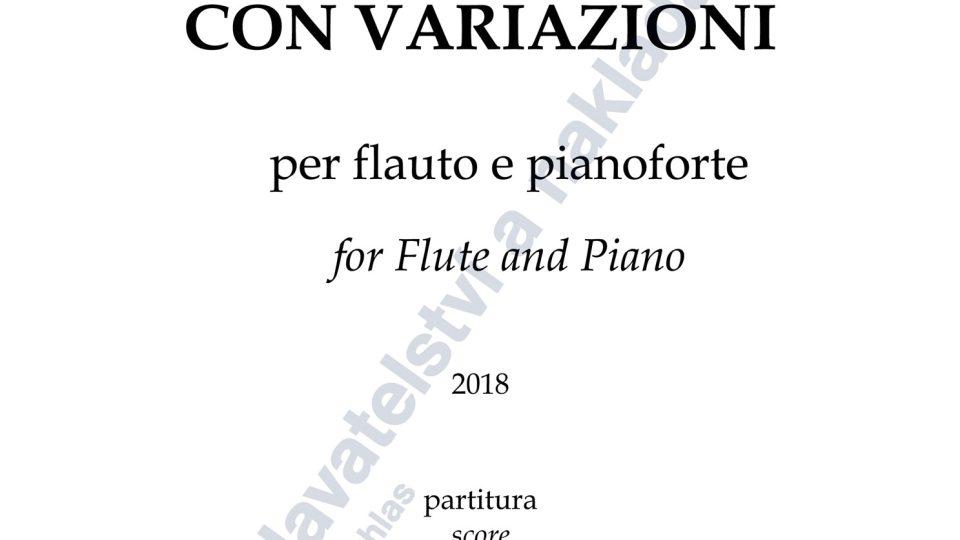 Introduzione e tema con variazioni - Jaroslav Pelikán