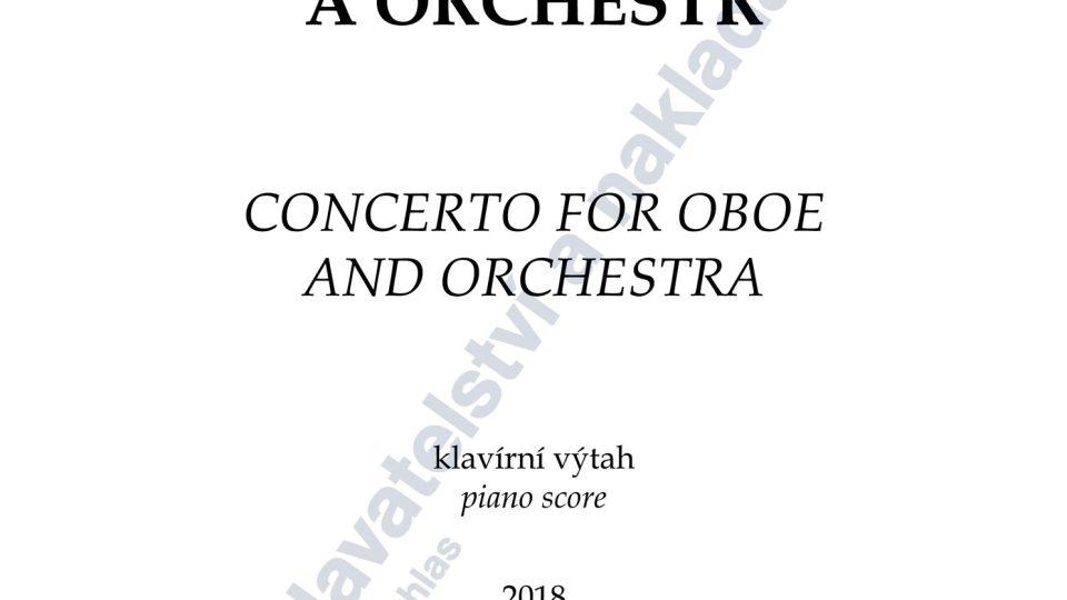 Koncert pro hoboj a orchestr / klavírní výtah - Jiří Gemrot